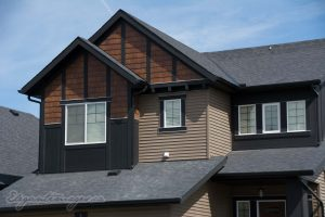 Vinyl Siding with Hardi Panel detailing