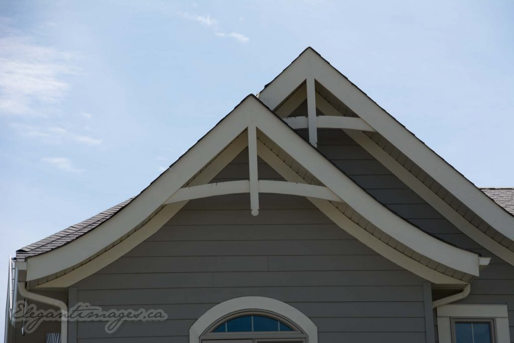 James hardie board gable